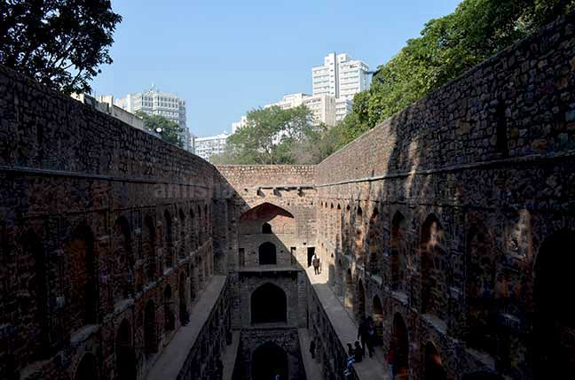 "Monuments: Agrasen ki Baoli, New Delhi (India) - The historic ""Agrasen Ki Baoli"" or step well at Hailey Road, Connaught Place, New Delhi.a. by Anil Sharma Photography"
