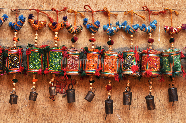 Festivals: Jaisalmer Desert Festival Rajasthan (India) - Handicraft items for sale at the Jaisalmer Desert festival. by Anil Sharma Photography