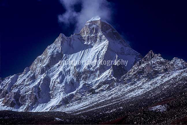 Nature-  Shivling Peak - Shivling Peak at Tapovan in Western Himalayas, Uttarakhand, India. by Anil Sharma Photography
