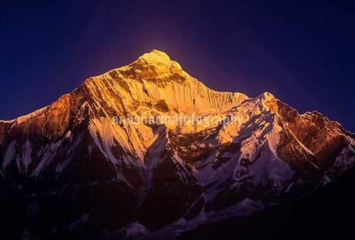 Nature- Mountain Peaks (India) - The Heavenly beauty of snow covered Indian Mountain peaks.